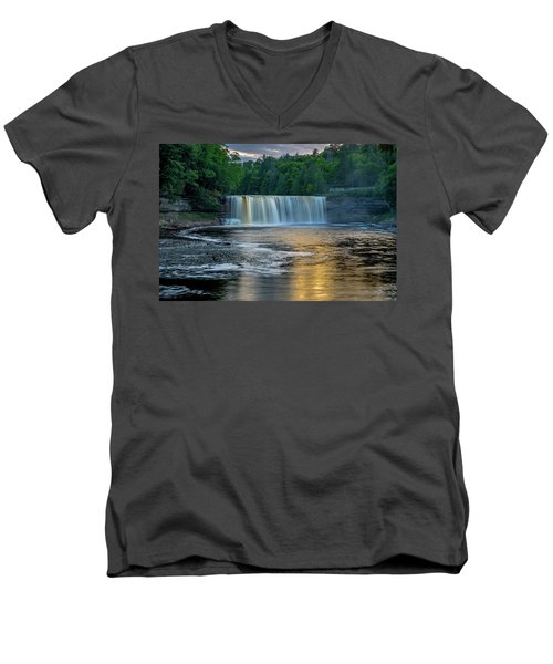 Tahquamenon Falls Men's V-Neck T-Shirt