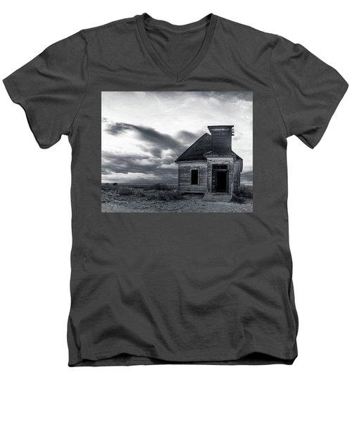 Taiban Presbyterian Church, New Mexico #3 Men's V-Neck T-Shirt