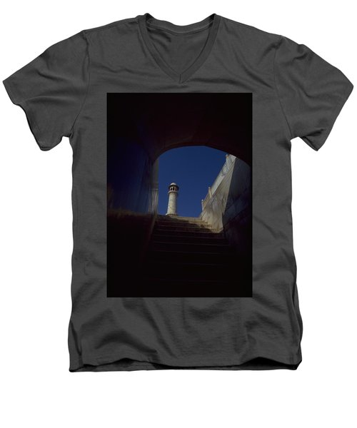 Taj Mahal Detail Men's V-Neck T-Shirt