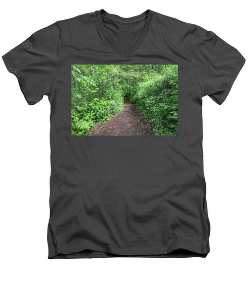 Take A Hike Men's V-Neck T-Shirt