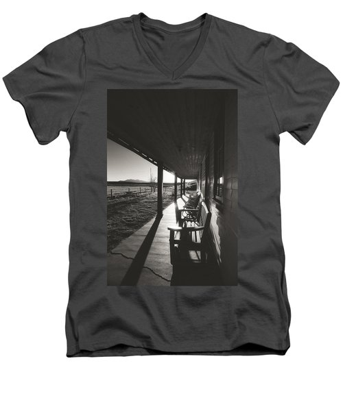 Take A Seat Men's V-Neck T-Shirt