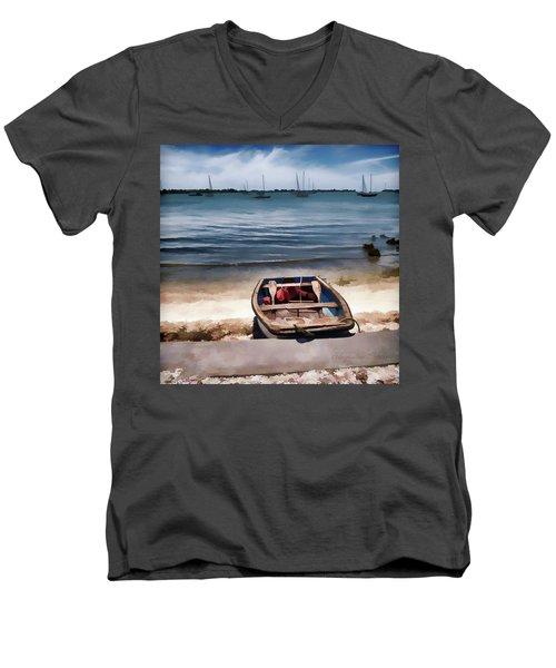 Take Me Out Men's V-Neck T-Shirt
