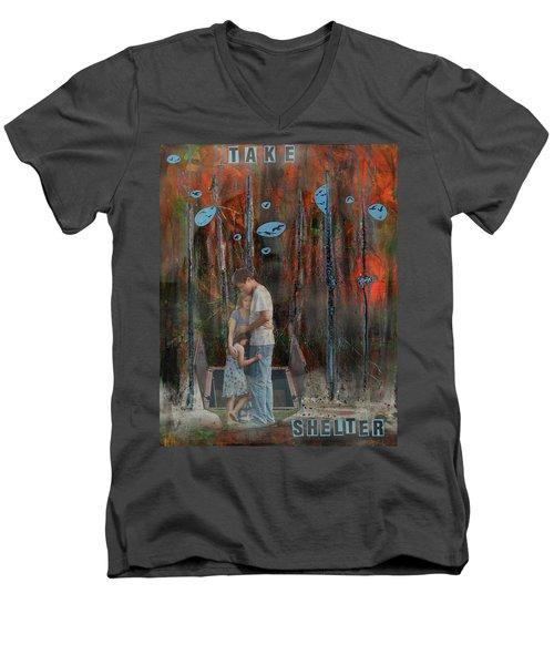 Take Shelter Men's V-Neck T-Shirt