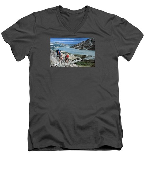 Take This View And Love It Men's V-Neck T-Shirt
