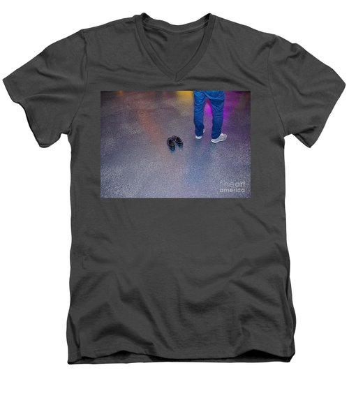 Taken Men's V-Neck T-Shirt