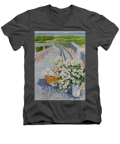 Taking Time Off Men's V-Neck T-Shirt