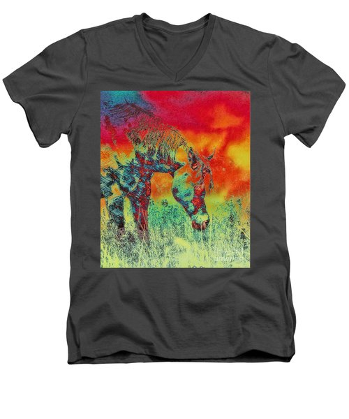 Taking Time Men's V-Neck T-Shirt