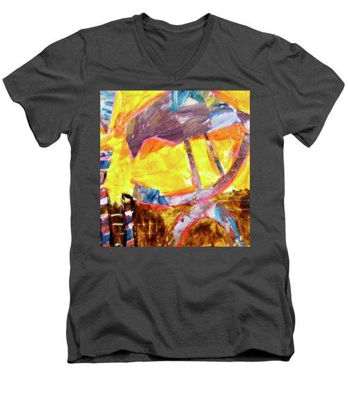 Tall Bird  Men's V-Neck T-Shirt