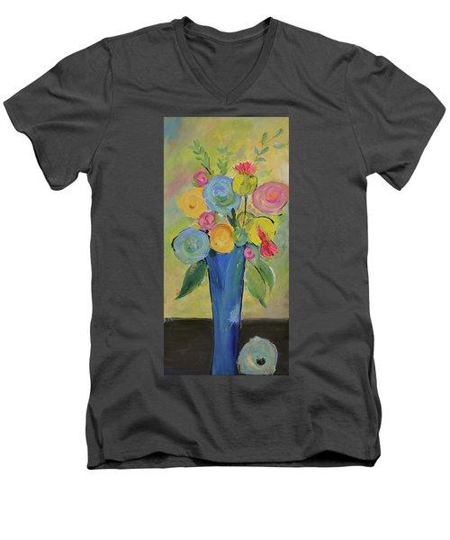 Tall Floral Order Men's V-Neck T-Shirt