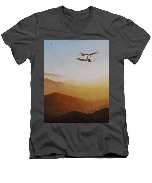 Talon Lock Men's V-Neck T-Shirt