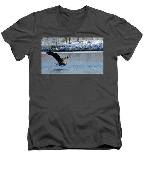 Talons Out Men's V-Neck T-Shirt