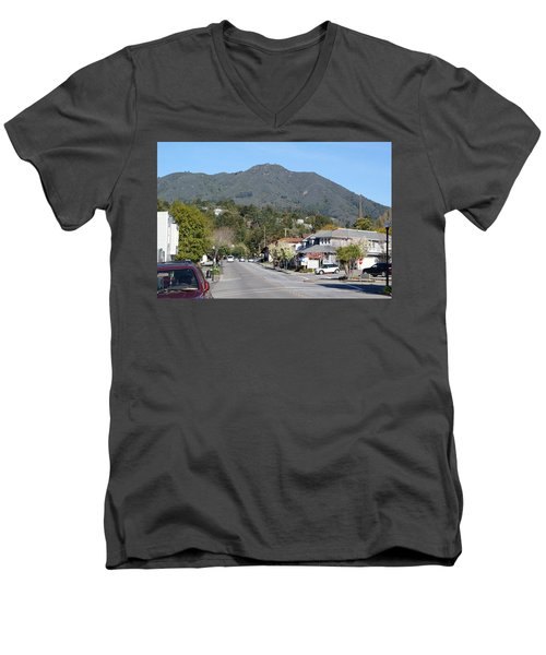 Tamalpais From Mill Valley Men's V-Neck T-Shirt