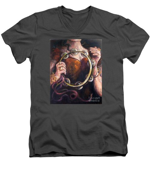 Tambourine Men's V-Neck T-Shirt