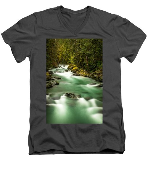 Tamihi Creek Men's V-Neck T-Shirt