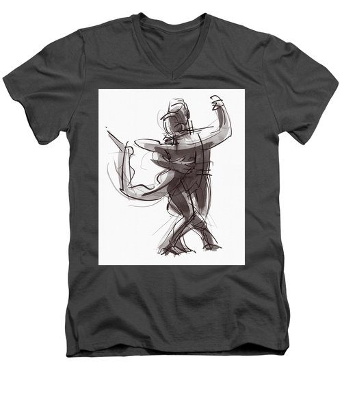 Tango #25 Men's V-Neck T-Shirt