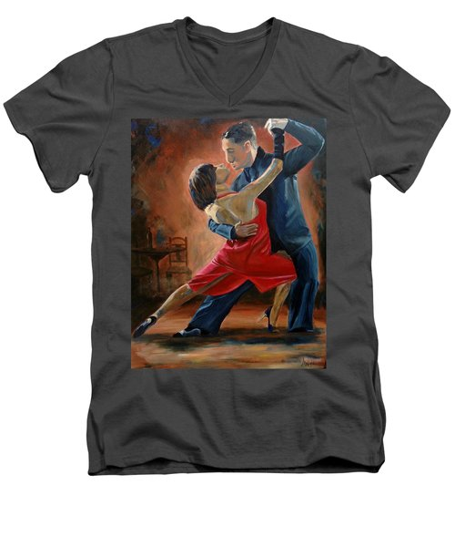 Tango Men's V-Neck T-Shirt