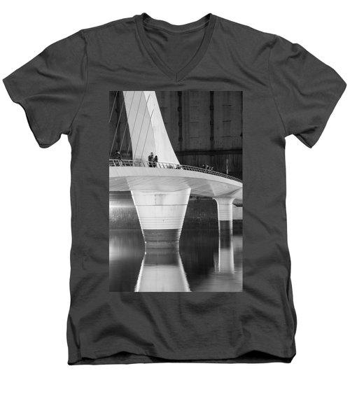 Tango Bridge Men's V-Neck T-Shirt