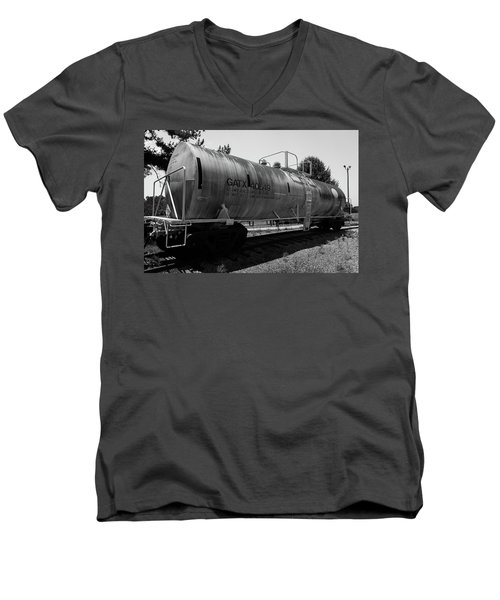 Tanker Men's V-Neck T-Shirt