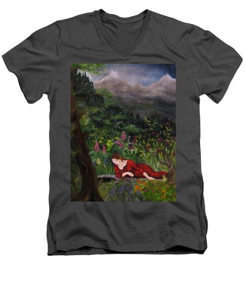 Tansel Of Loralin Men's V-Neck T-Shirt