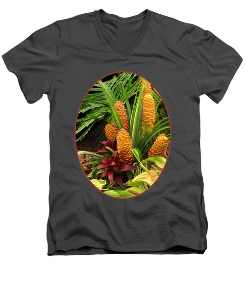 Tantalisingly Tropical Men's V-Neck T-Shirt
