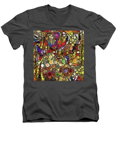 Tantric Bliss Men's V-Neck T-Shirt