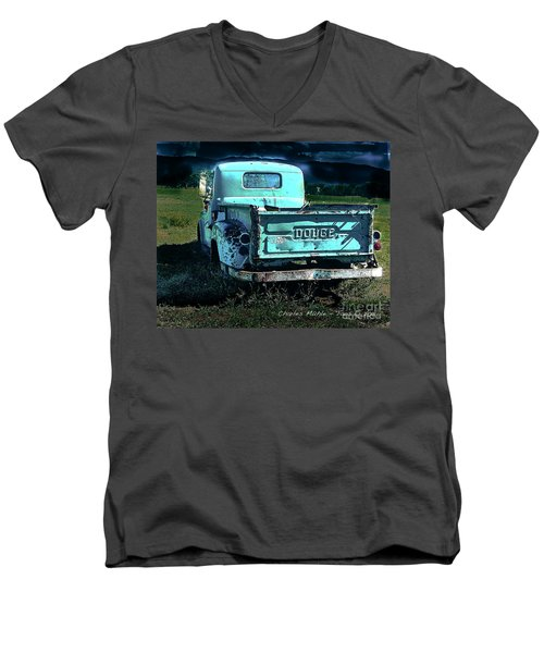 Taos Dodge Men's V-Neck T-Shirt