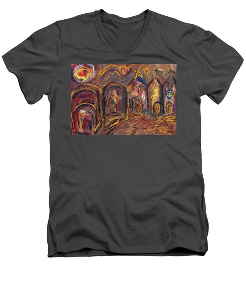 Taos's Spirit Men's V-Neck T-Shirt