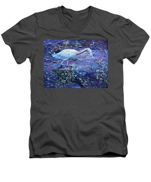 Targeted Ad Impetum Men's V-Neck T-Shirt
