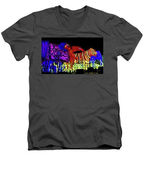Taronga For The Wild 1 Men's V-Neck T-Shirt