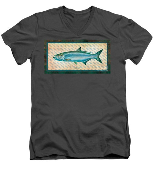 Tarpon Men's V-Neck T-Shirt