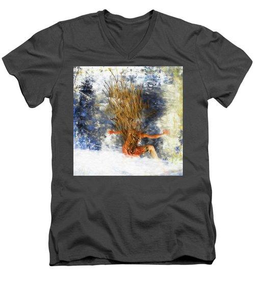 Tatoo Bird Men's V-Neck T-Shirt