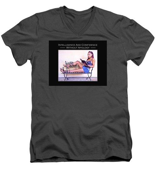 Tattoo Betty 4-142 Men's V-Neck T-Shirt