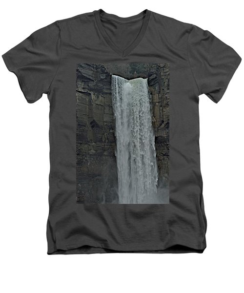 Taughannock Falls State Park Men's V-Neck T-Shirt by Joseph Yarbrough