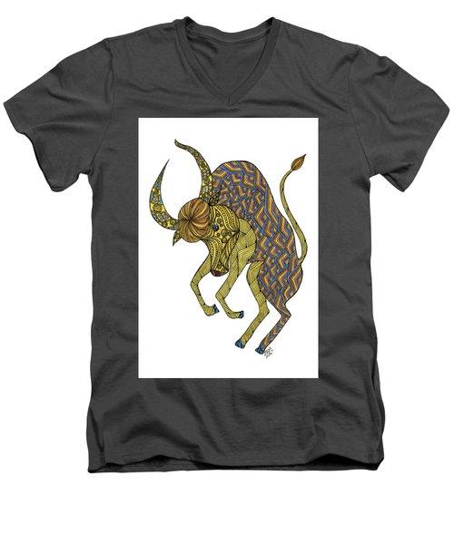 Taurus Men's V-Neck T-Shirt