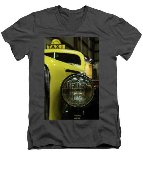 Taxi Men's V-Neck T-Shirt