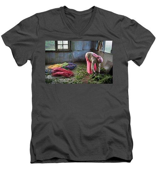 Tea Factory Men's V-Neck T-Shirt