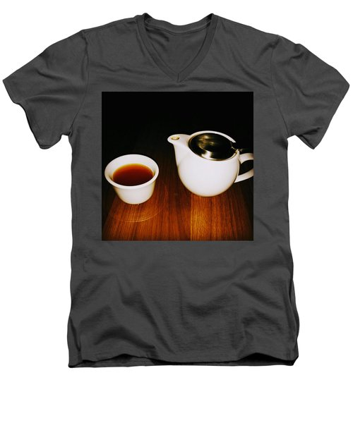 Tea-juana Men's V-Neck T-Shirt