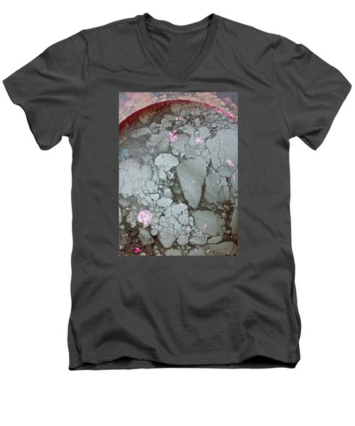 Tectonic With Sky Above And Below Men's V-Neck T-Shirt by Cliff Spohn