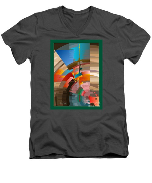 Telecast Men's V-Neck T-Shirt