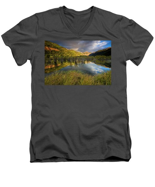 Telluride Valley Floor Men's V-Neck T-Shirt