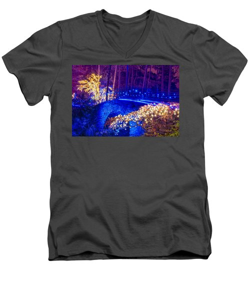 Stone Bridge Men's V-Neck T-Shirt