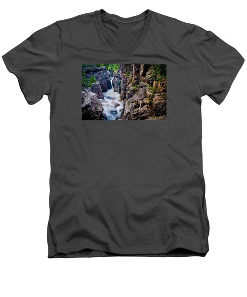 Temperance River Gorge Men's V-Neck T-Shirt