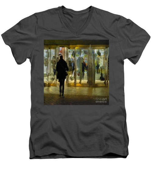 Temptation Men's V-Neck T-Shirt