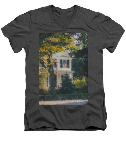Ten Lincoln Street, Easton, Ma Men's V-Neck T-Shirt