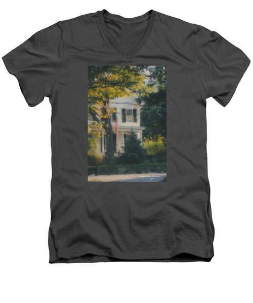 Ten Lincoln Street, Easton, Ma Men's V-Neck T-Shirt