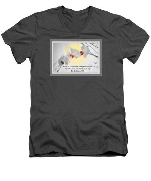 Ten Rulers Men's V-Neck T-Shirt