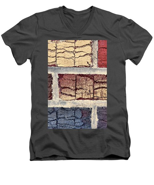 Tender Bricks Men's V-Neck T-Shirt