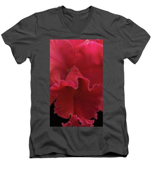 Tender Orchid Men's V-Neck T-Shirt