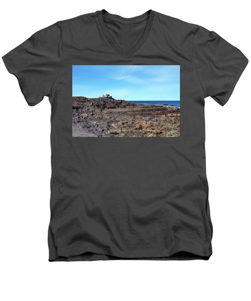 Tenesar - Lanzarote Men's V-Neck T-Shirt