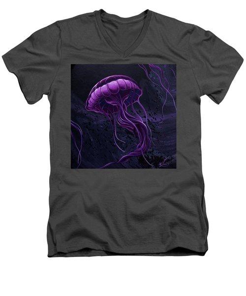 Tentacles Men's V-Neck T-Shirt